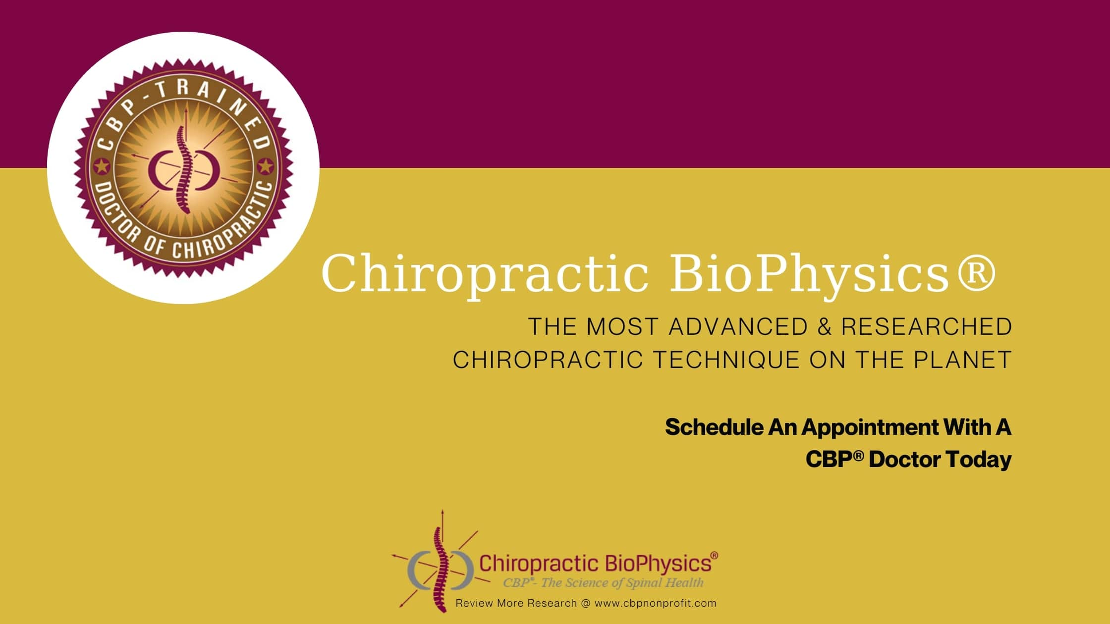 What You Need to Know About the CBP® Spine Model